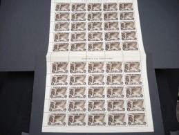 ESPAGNE - N° 98 PA  - 1 Feuille De 50 Exemplaires  - Luxe - Lot N° 3631 - Luftpost
