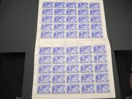 ESPAGNE - N° 101 PA  - 1 Feuille De 50 Exemplaires  - Luxe - Lot N° 3632 - Luftpost