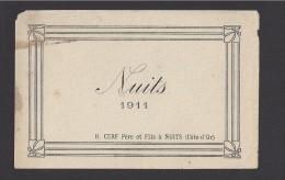 Etiquette De Vin Bougogne  -   Nuits -   1911  -  H. Cerf Père Et Fils à Nuits (21) - Bourgogne