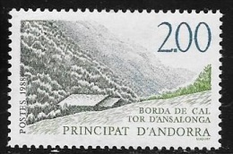 ANDORRE FRANCAIS N° 372 - 1988  - NEUF - French Andorra