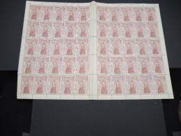 ESPAGNE - N° 445 - 1 Feuille De 50 Exemplaires  - Luxe - Lot N° 3646 - Luftpost