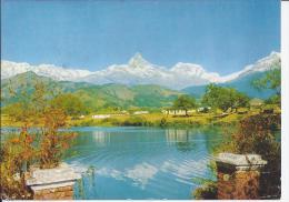 Nepal  Mt. Machhapuchare   (1902) - Népal