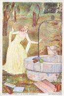 LA BELLE PRINCESSE ET LA VILAINE GRNOUILLE- CARTE ILUSTREE PAR LA MAISON CAILLER CHOCOLAT-1929- RARE- - Contes, Fables & Légendes