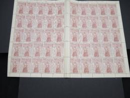 ESPAGNE - N° 445 - 1 Feuille De 50 Exemplaires  - Luxe - Lot N° 3648 - Luftpost