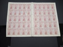 ESPAGNE - N° 445 - 1 Feuille De 50 Exemplaires  - Luxe - Lot N° 3649 - Luftpost
