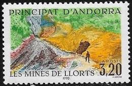 ANDORRE FRANCAIS N° 386 - 1990  - NEUF - French Andorra