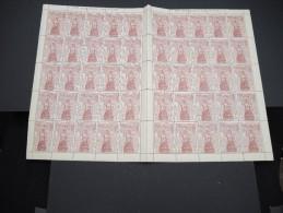 ESPAGNE - N° 445 - 1 Feuille De 50 Exemplaires  - Luxe - Lot N° 3650 - Luftpost