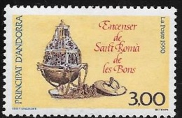 ANDORRE FRANCAIS N° 392 - 1990  - NEUF - French Andorra