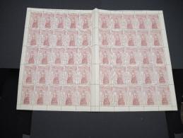 ESPAGNE - N° 445 - 1 Feuille De 50 Exemplaires  - Luxe - Lot N° 3651 - Luftpost