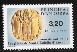 ANDORRE FRANCAIS N° 397 - 1990  - NEUF - French Andorra