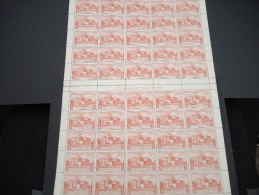 ESPAGNE - N° 57 PA - 1 Feuille De 50 Exemplaires  - Luxe - Lot N° 3654 - Luftpost