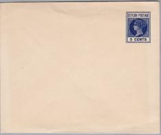 Asien CEYLON Ganzsache 5 Cents Ungebraucht - Sri Lanka (Ceylan) (1948-...)