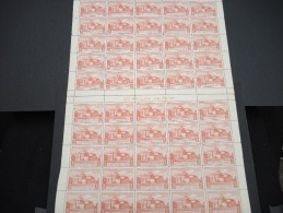 ESPAGNE - N° 57 PA - 1 Feuille De 50 Exemplaires  - Luxe - Lot N° 3655 - Luftpost