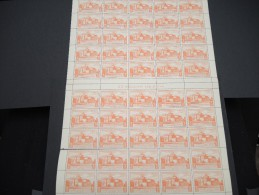 ESPAGNE - N° 56 PA - 1 Feuille De 50 Exemplaires  - Luxe - Lot N° 3659 - Luftpost
