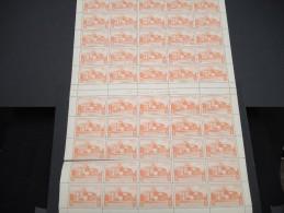 ESPAGNE - N° 56 PA - 1 Feuille De 50 Exemplaires  - Luxe - Lot N° 3661 - Luftpost