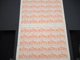ESPAGNE - N° 56 PA  - 1 Feuille De 50 Exemplaires  - Luxe - Lot N° 3663 - Luftpost