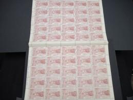 ESPAGNE - N° 445 - 1 Feuille De 50 Exemplaires  - Luxe - Lot N° 3665 - Luftpost