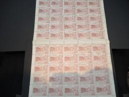 ESPAGNE - N° 445 - 1 Feuille De 50 Exemplaires  - Luxe - Lot N° 3666 - Luftpost