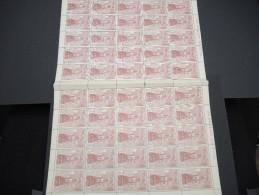 ESPAGNE - N° 445 - 1 Feuille De 50 Exemplaires  - Luxe - Lot N° 3668 - Luftpost