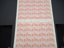 ESPAGNE - N° 57 PA - 1 Feuille De 50 Exemplaires  - Luxe - Lot N° 3670 - Luftpost