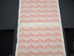ESPAGNE - N° 57 PA - 1 Feuille De 50 Exemplaires  - Luxe - Lot N° 3671 - Luftpost