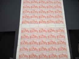 ESPAGNE - N° 57 PA - 1 Feuille De 50 Exemplaires  - Luxe - Lot N° 3672 - Luftpost