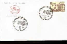 2002 ANNULLO FDC ``Scuole E Università''. 16ª Serie. Università Commerciale ``Luigi Bocconi'' Di Milano. - Architettura