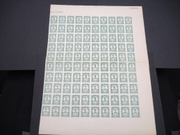 ESPAGNE - N° 526 - 1 Feuille De 100 Exemplaires  - Luxe - Lot N° 3679 - 1931-50 Neufs