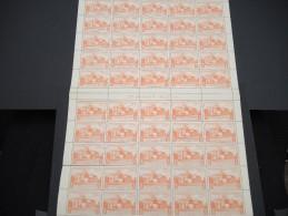ESPAGNE - N° 97 PA - 1 Feuille De 50 Exemplaires  - Luxe - Lot N° 3680 - Luftpost