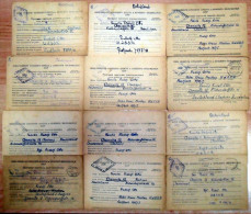 Lot Gefangenen Post UdSSR nach Chemnitz