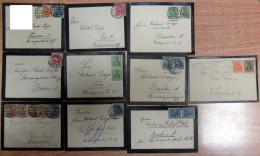 Lot Briefe Trauerbrief Dresden 1921