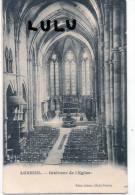 DEPT 70 : Luxeuil , Interieur De L église , 2 Scans - Luxeuil Les Bains