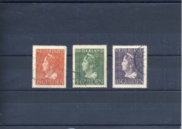 NVPH Nr. 347 T/m 349 - Gebruikt (CW = € 110,-) - Period 1891-1948 (Wilhelmina)