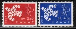 CEPT 1961 GR MI 775-76  GREECE - Europa-CEPT