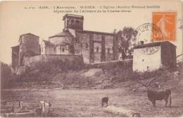 CPA - SAINT DIER (63) - L'église - France