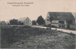 AK Truppenübungsplatz Königsbrück Stempel Militär Verlassenes Dorf Zietsch Bauernhof Gehöft - Zietsch