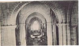 Cpa PARTHENAY Interieur De L Eglise - Parthenay