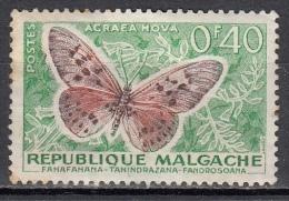 Madagascar, 1959 - 40c Butterfly - Nr.307 MNH** - Madagascar (1960-...)