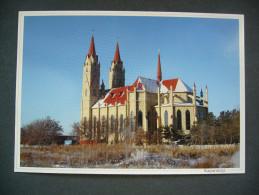 Kazakhstan: KARAGANDA Karagandy - Cathedral Of Our Lady Of Fatima , The Mother Of All People - Unused 2012 - Kazakhstan