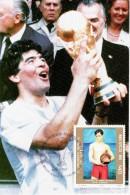 MEXICO 1986 WORLD CUP MEXICO COMMEMORATIVE POSTCARD - World Cup