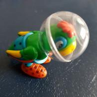Frufoo Haustiere 2003 - Papagei Elvis Mit BPZ - Diddl & Ü-Eier