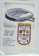 R  773 Viñeta F.C. Barcelona Campeón De La Recopa De Europa 1981-1982 - Variedades & Curiosidades