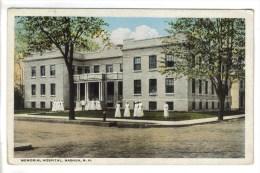 CPSM (+ 1) NASHUA (Etats Unis-New Hampshire) - Memorial Hospital (+ Bahia Honda Bridge - Key West Floride) - Nashua