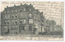 Cpa Bon Etat ,  Belgique  Flandre Occidentale , La Panne , Hotel Terlinck , Carte Rare    Voir Verso - Belgique