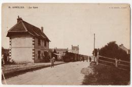 """"""" ASNELLES - La Gare """" - Arromanches"""