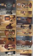 32 Télécartes Différentes - Série Téléphone (bon état) - Telefoni