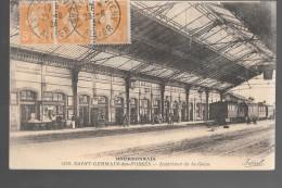SAINT-GERMAIN-des-FOSSES - Intérieur De La Gare - Andere Gemeenten