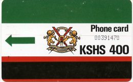 @+ Kenya - KSHS 400 + T (sans Encoche) - Kenya