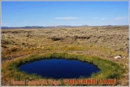 Diamond Craters,USA, Oregon. Volcano Lake Postage Card 3268-16 - Postkaarten