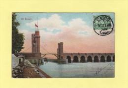 Cairo - Le Caire - 1912- Carte Barrage Nil - Égypte